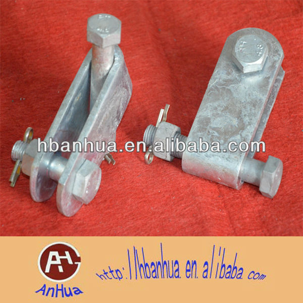 Hot-dipped galvanized UB,Z clevis or right angle plates
