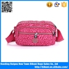 Latest new design small common rose shoulder bag with long strap