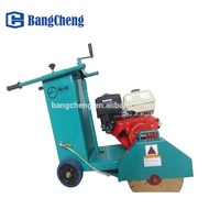 reinforced asphalt electrical gasoline pavement floor saw concrete cutting machine