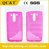 Mobile Accessories S Style Tpu Case With Wave Cell Phone Case For LG G4 Stylus/LS770