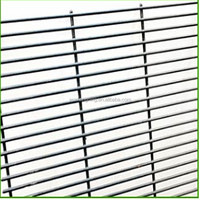 Razor wire mesh fence/BTO-22 Razor barbed wire on Y shape post(professional)