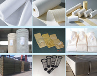 Strong acid and alkali resistant pps/nomex/polyester dust filter bag