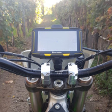 Karadar GPS device With 2017 ATV And Snowmobile Maps Installed Waterproof Mount Included