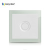 Hot Sales Haiyi Modern Waterproof AQUA Crystal Glass 210~250v 1 Gang Touch Dimmer Screen Light Control Wall Switch