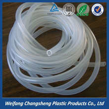 No Toxic Clear Food Grade Conveying Milk Flexible PVC Transparent Plastic Hose