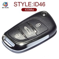 High Precision For Peugeot 307 Remote Key 3 Button Prior car ID46 chip 433mhz AK009014