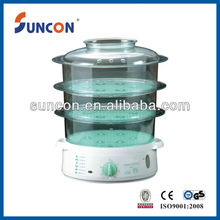 plastic electric family food steamer
