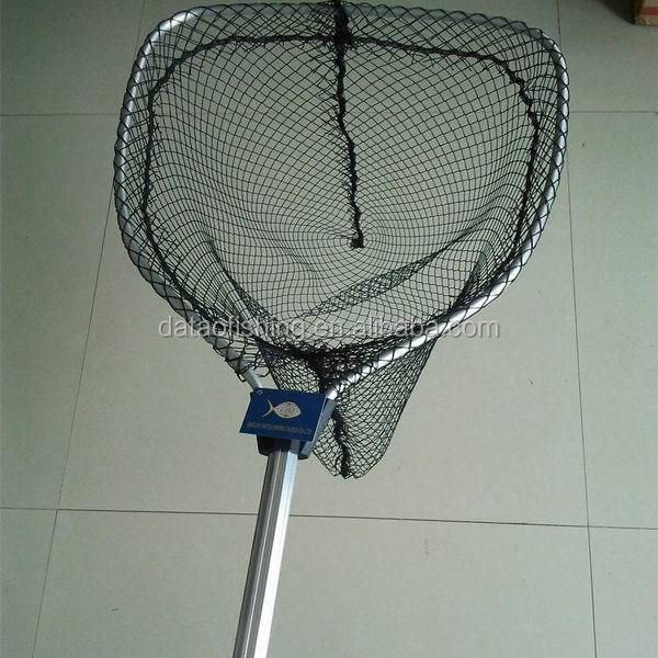 Basic telescopic aluminum carp bass fishing landing nets for Telescoping fishing net