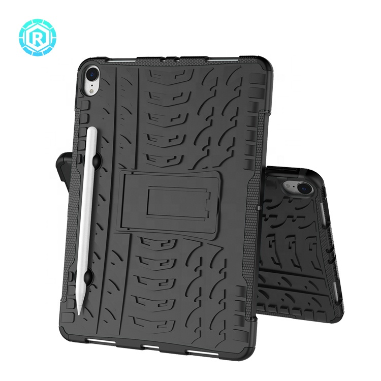 New version tablet For Apple <strong>Ipad</strong> pro 2018 11 inch tablet back cover stand case for <strong>ipad</strong> pro 11 inch with foldable kickstand