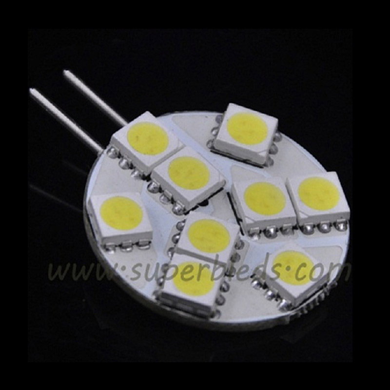 DC 12V G4 Base 9-LED 5050 SMD Halogen Light Bulb Lamp Spot Light