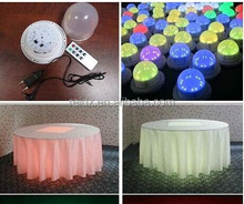 led mini patry light furniture decoration for party nightclub under table wedding stage nightclub light
