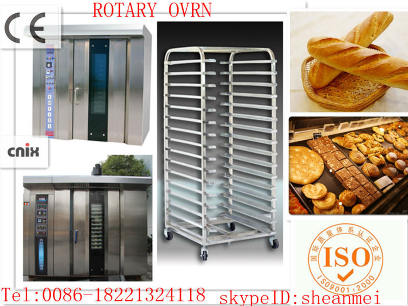 industrial bread making machines/french bakery equipment/gas convection oven