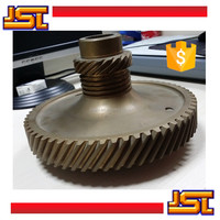 Brass casting and machining oem driving gear wheel