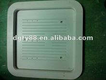 PVC thermoforming vacuum section plastic cover