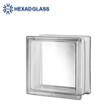 High Quality Clear & Color Glass Block / Glass Brick For Decoration Wall Building