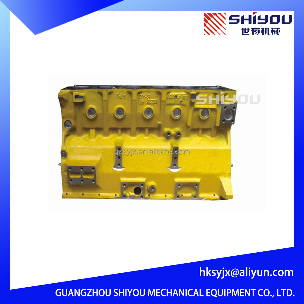 Hot Sales Diesel Excavator PC200-5 For 6D95 Cylinder Block 6201-21-1200
