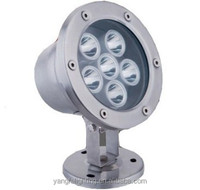 hot sale low price 12V ultra bright ip68 surface mounted multi-color RGB leds 6w swimming pool LED light