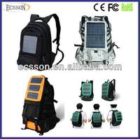 12000mAh solar rechargeable bag,solar energy bag