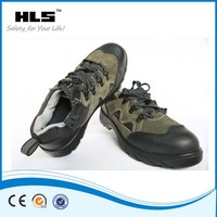 Breathable EVA Rubber Outsole Suede Leather