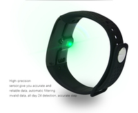 smart bluetooth watch wifi bracelet with vibration sms , scrolling led display bluetooth