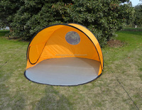 easy cheap pop up tent for camping yellow color KSF-B2006