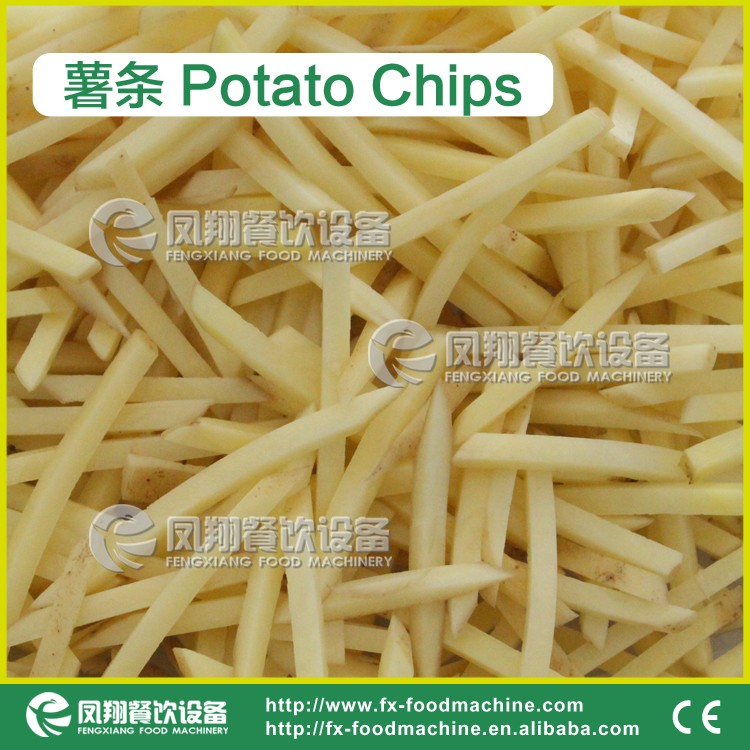 FC-502 Potato Chips French Fries Cutting Making Machine