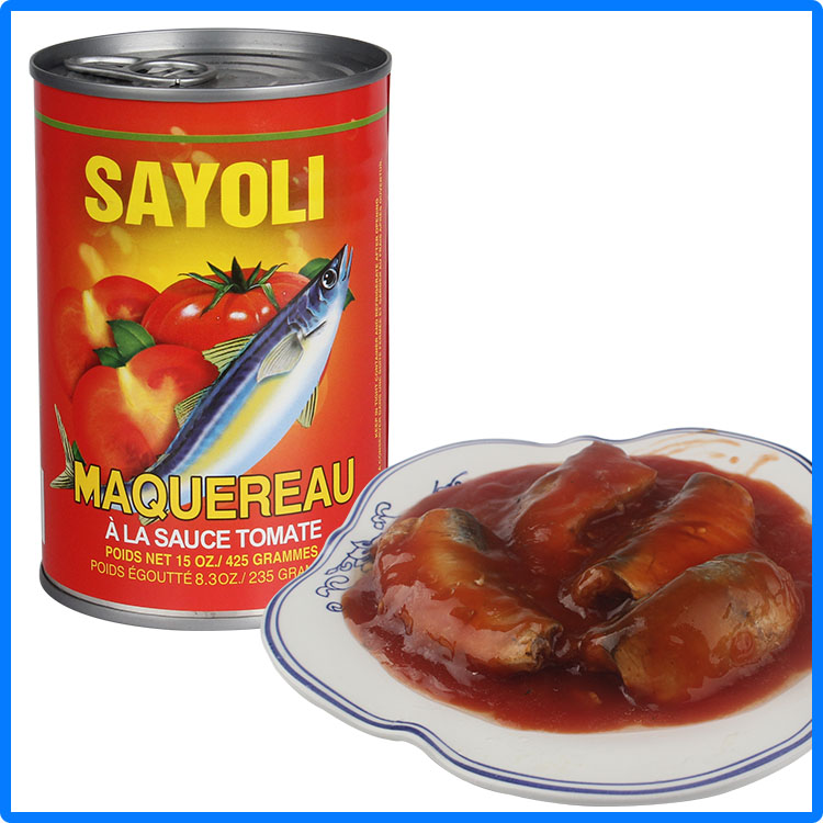 210g canned seafood mackerel