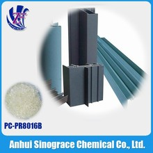 Widely used in aluminum products/transparent polyester resin for powder coating