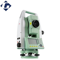 leading total station surveying instrument leica ts06 with windows ce 5.0 and bluetooth