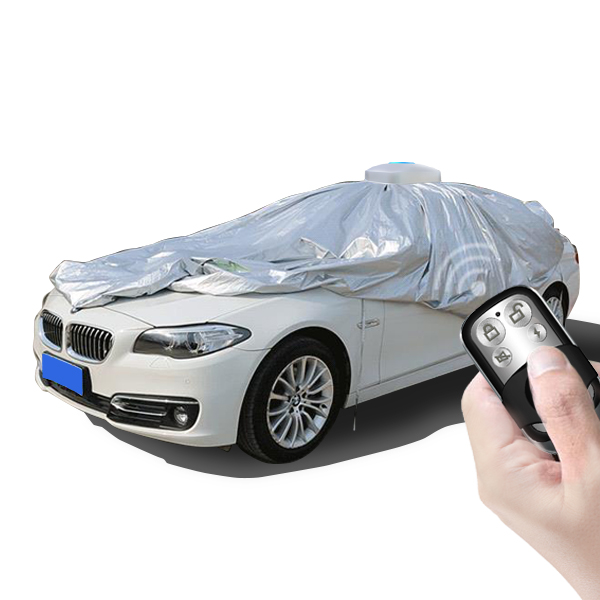 Accessories car flood protection standing automatic car parking cover