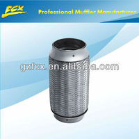 car auto muffler stainless steel exhaust flexible pipe bellows