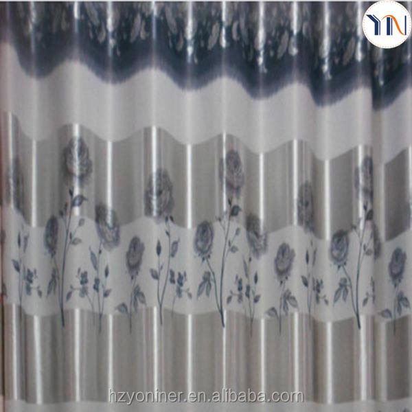 Shining strip print blackout curtain home idea design curtain, home decoration wholesale fabric