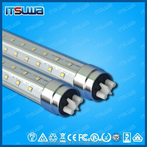 >110lm/w TUV CE RoHS Listed T8 LED Tube 1200MM 20W Wide Beam Angle 270 Degree