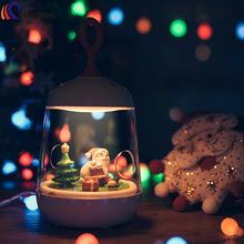 Christmas Rechargeable Landscape LED nightlight Lamp
