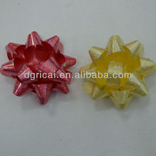 Colorful Holographic Decorative Christmas Star Bow