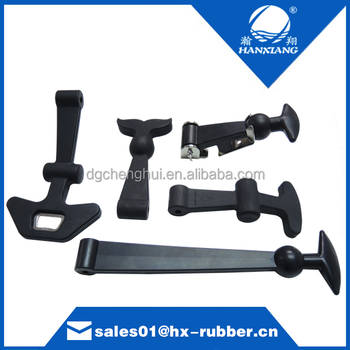 Customize 2015 high quality durable rubber tool box handles and latchs / draw latch