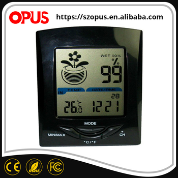2017 New design soil humidity and temperature controller