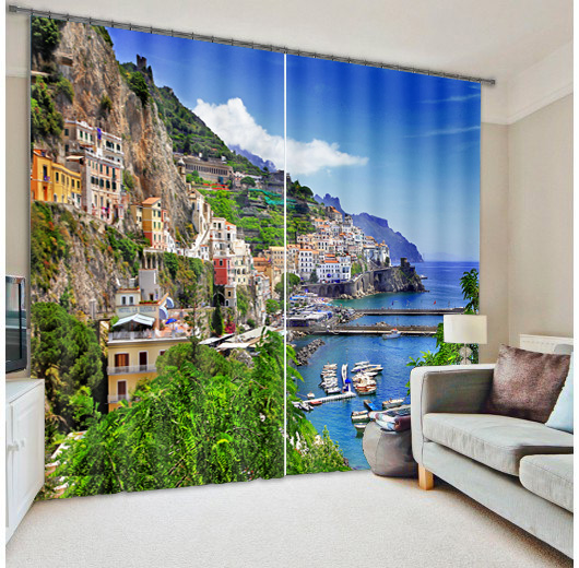 Beach Design Crystal Bead Glass Wall Price Metal Window Curtain