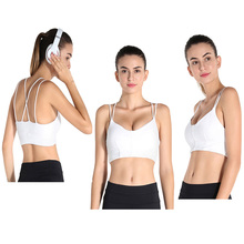 High Impact Removable Pads Comfort Running Yoga Sports Bra Women'S Sexy Racer Back