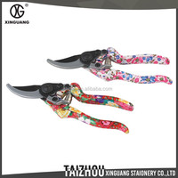 High Quality Fashion metal floral pruning shears bypass