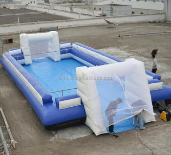 Hot sale inflatable human football table court soccer field sports A6044