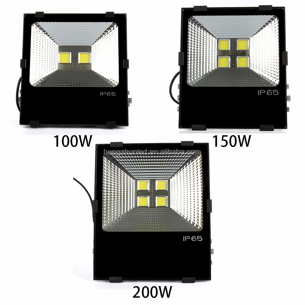 Outdoor Waterproof IP65 COB SMD LED Flood Light 200W with good price