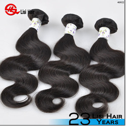 Factory Direct Sale Wholesale Double Drawn Virgin Body Wave Brazilian Hair Bundles