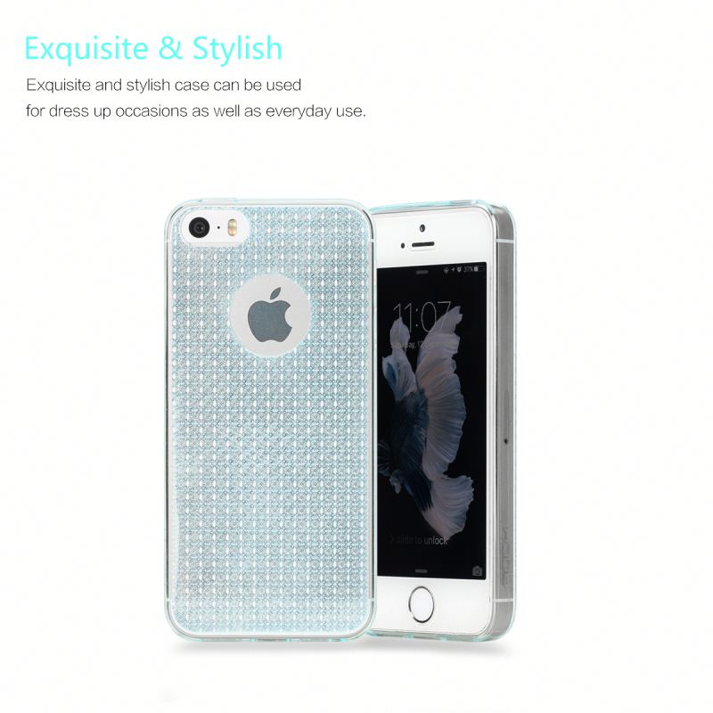 ROCK case phone Fla Soft TPU Case For iPhone 5S/5C/SE protective silicon Cheap Price