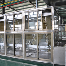healthy stainless steel fried waxyinstant noodle production line