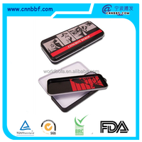 Promotion tin pencil case 2 layers pencil box