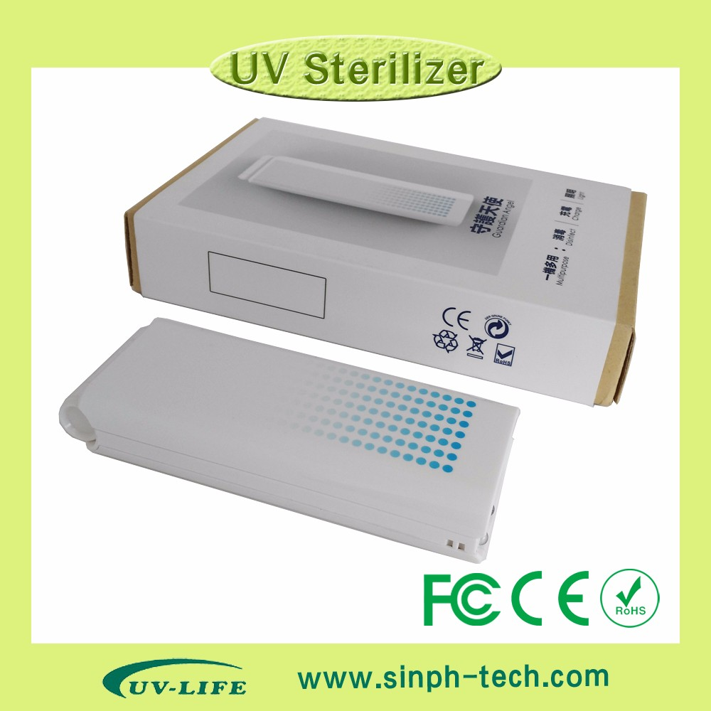 High performance power bank function portable style handheld uv sterilizer