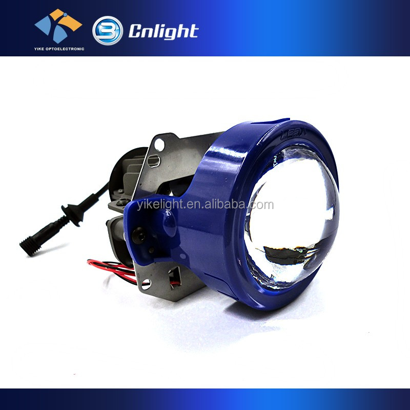 Auto Headlight Round clear lens 12v-30v 4000LM h1 h7 h4 d2s led bi xenon projectors for vw polo projector headlight 2011-2012