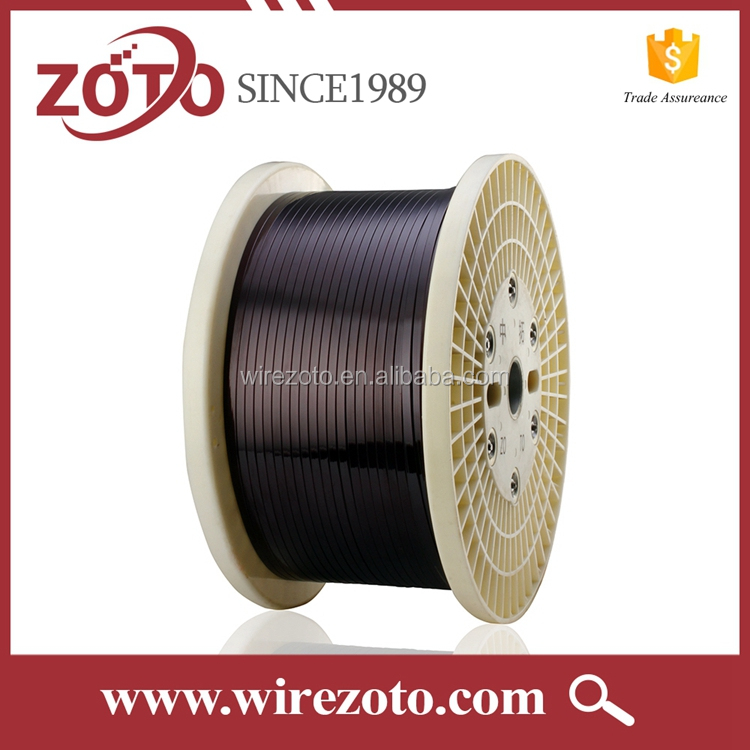 2017 UL Recognized Class 200C Flat Enameled Copper Wire