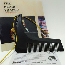 The Black Beard bro Complete Beard Comb Plastic